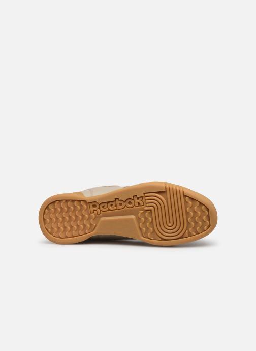 Sneaker Reebok Workout Plus Mu beige ansicht von oben