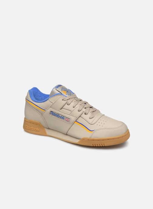 Sneakers Reebok Workout Plus Mu Beige detail