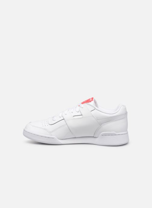 Deportivas Reebok Workout Plus Mu Blanco vista de frente
