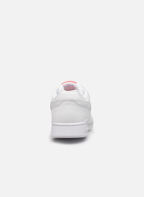 Baskets Reebok Workout Plus Mu Blanc vue droite