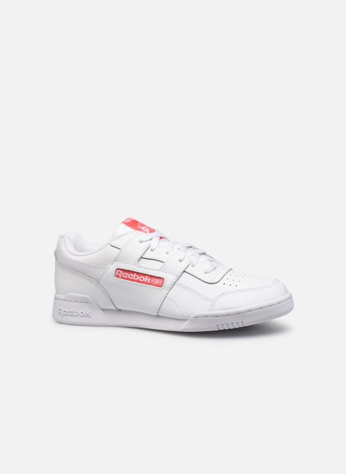 Sneakers Reebok Workout Plus Mu Wit achterkant