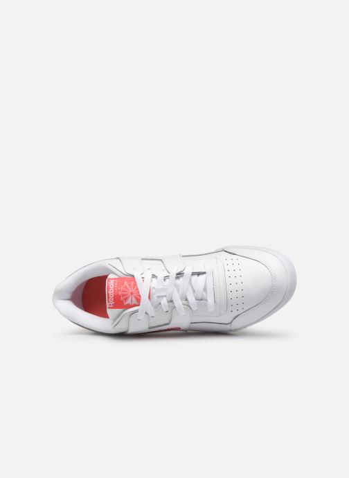 Baskets Reebok Workout Plus Mu Blanc vue gauche