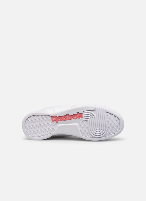 Deportivas Reebok Workout Plus Mu Blanco vista de arriba