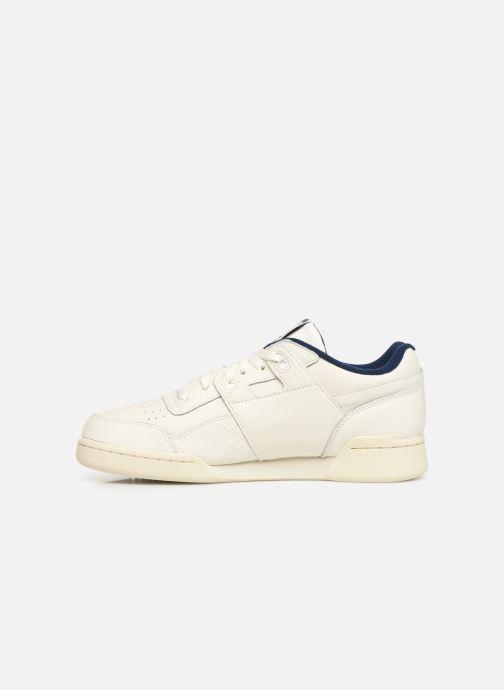 Sneaker Reebok Workout Plus Mu weiß ansicht von vorne