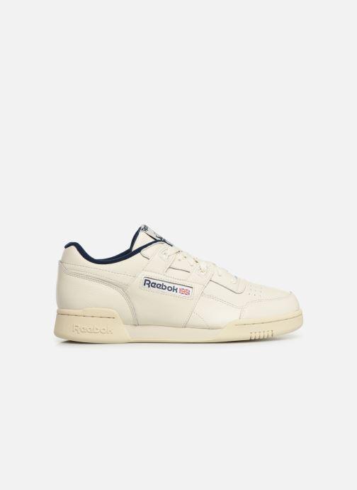 Sneaker Reebok Workout Plus Mu weiß ansicht von hinten