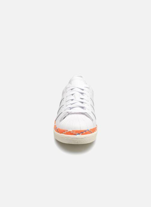 Baskets adidas originals Superstar 80s New Bold W Blanc vue portées chaussures