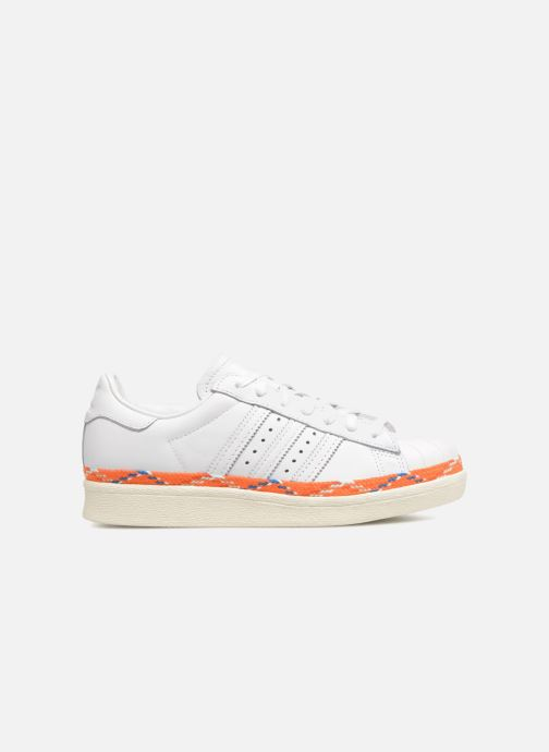Trainers adidas originals Superstar 80s New Bold W White back view