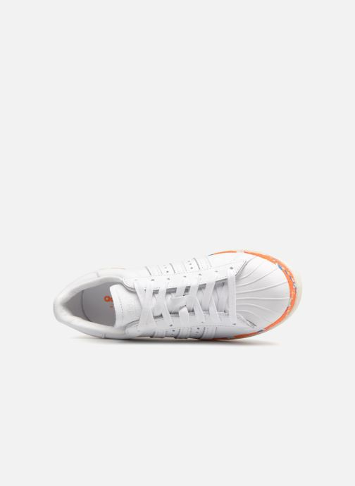 Trainers adidas originals Superstar 80s New Bold W White view from the left