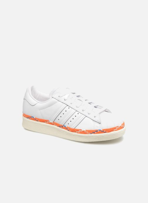 Trainers adidas originals Superstar 80s New Bold W White detailed view/ Pair view