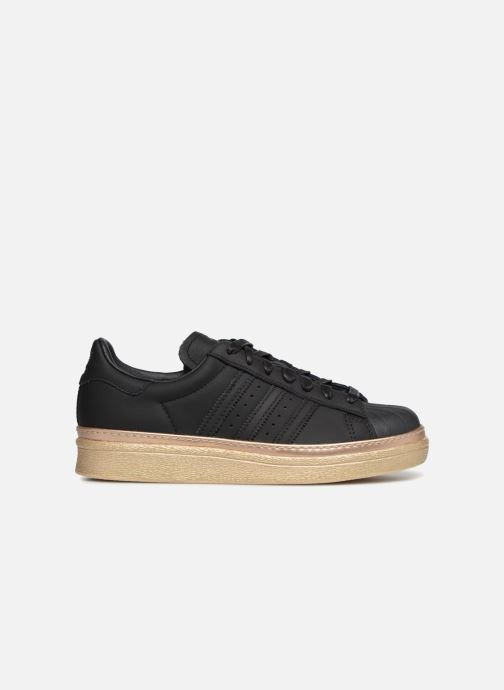 Baskets adidas originals Superstar 80s New Bold W Noir vue derrière
