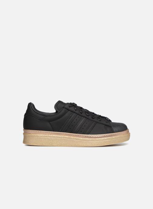 Baskets adidas originals Superstar 80s New Bold W Noir vue derrière