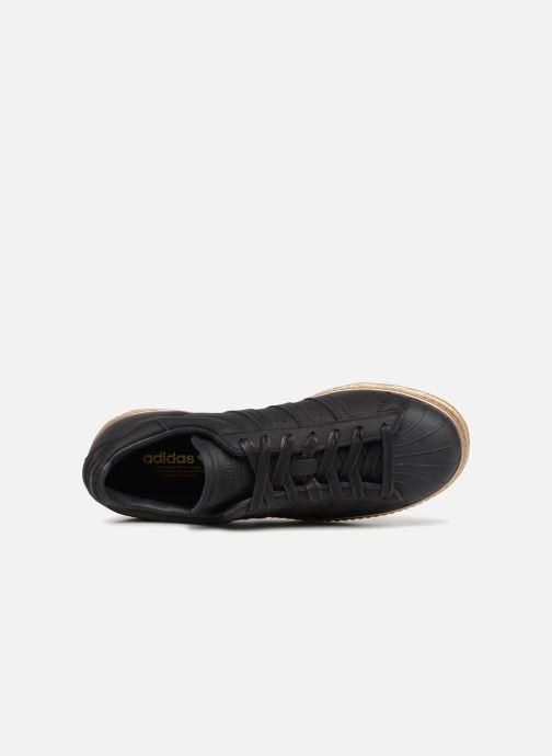 Baskets adidas originals Superstar 80s New Bold W Noir vue gauche