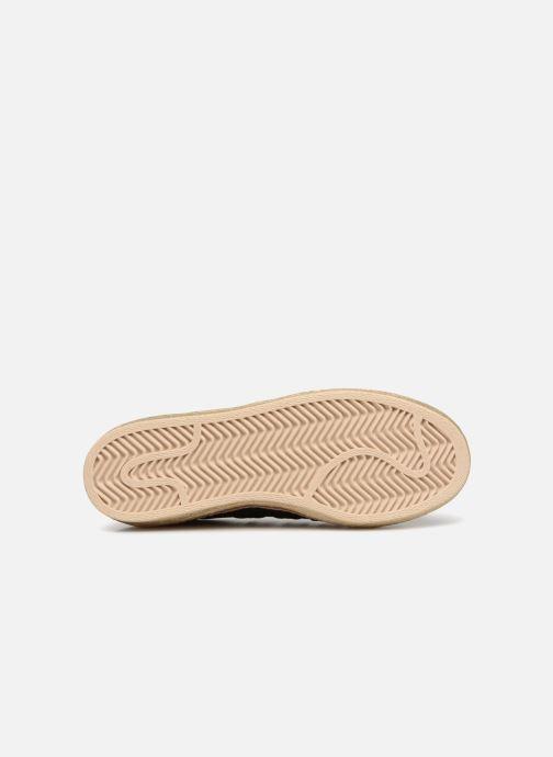 Baskets adidas originals Superstar 80s New Bold W Noir vue haut