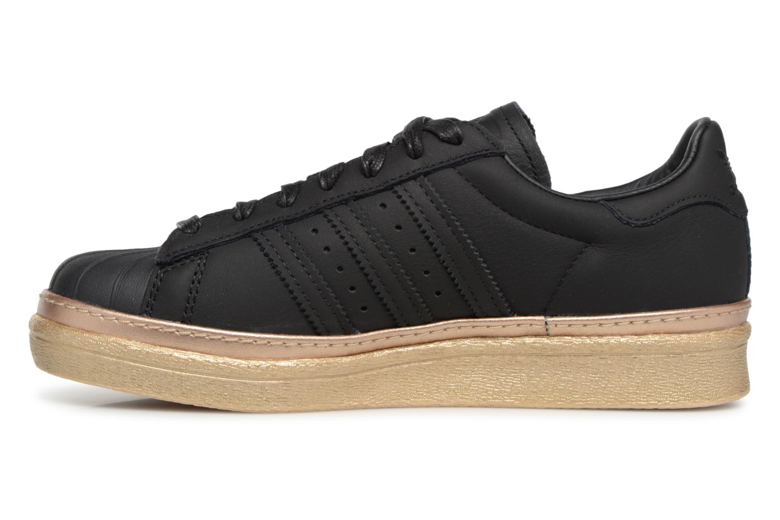 Sneakers Adidas Originals Superstar 80s New Bold W Nero immagine frontale