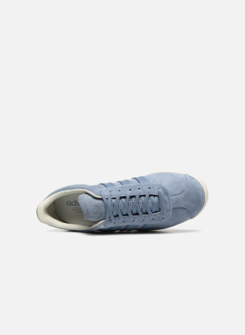 Trainers adidas originals Gazelle S&T Grey view from the left