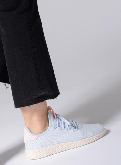 Sneakers adidas originals Pharrell Williams Tennis HU Wmns Rosa bild från under