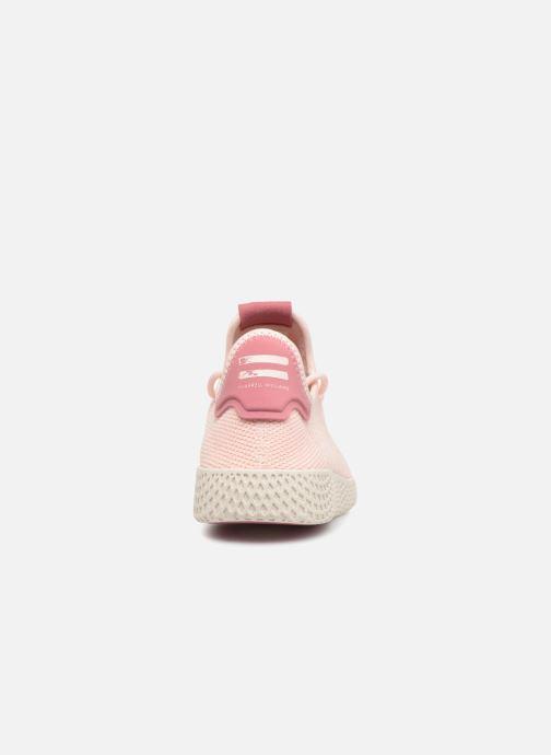 Sneakers adidas originals Pharrell Williams Tennis HU Wmns Rosa Bild från höger sidan