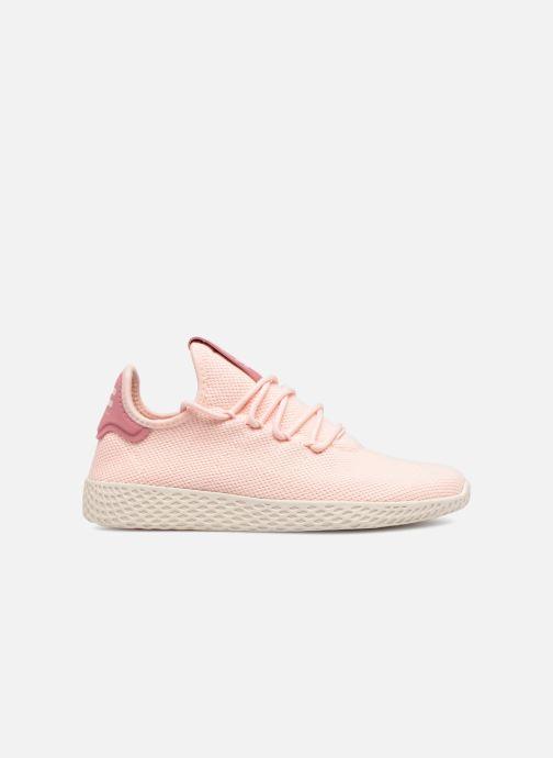 Sneakers adidas originals Pharrell Williams Tennis HU Wmns Rosa bild från baksidan