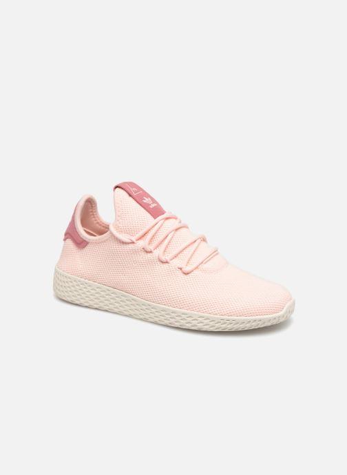 Sneakers Adidas Originals Pharrell Williams Tennis HU Wmns Rosa detaljerad bild på paret