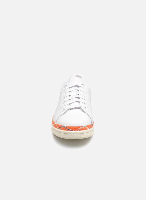 Baskets adidas originals Stan Smith New Bold W Blanc vue portées chaussures