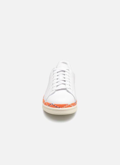 Baskets adidas originals Stan Smith New Bold W Blanc vue portées chaussures