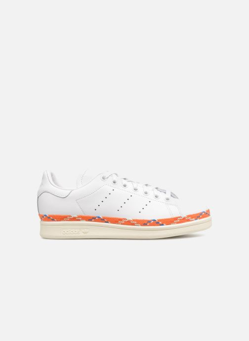 Baskets adidas originals Stan Smith New Bold W Blanc vue derrière