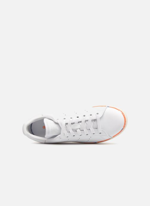 Baskets adidas originals Stan Smith New Bold W Blanc vue gauche