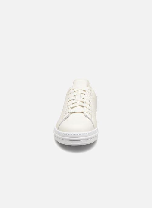 Sneaker adidas originals Stan Smith New Bold W weiß schuhe getragen
