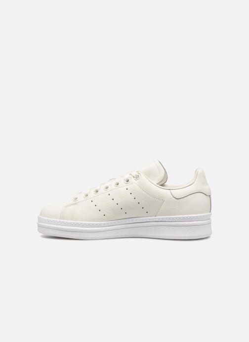 Sneaker adidas originals Stan Smith New Bold W weiß ansicht von vorne