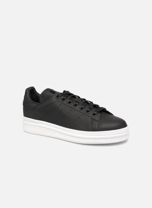 Sneakers adidas originals Stan Smith New Bold W Svart detaljerad bild på paret