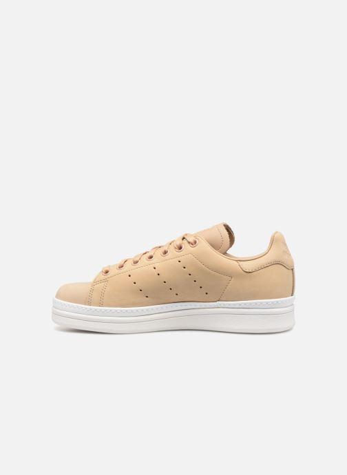 Sneaker adidas originals Stan Smith New Bold W beige ansicht von vorne