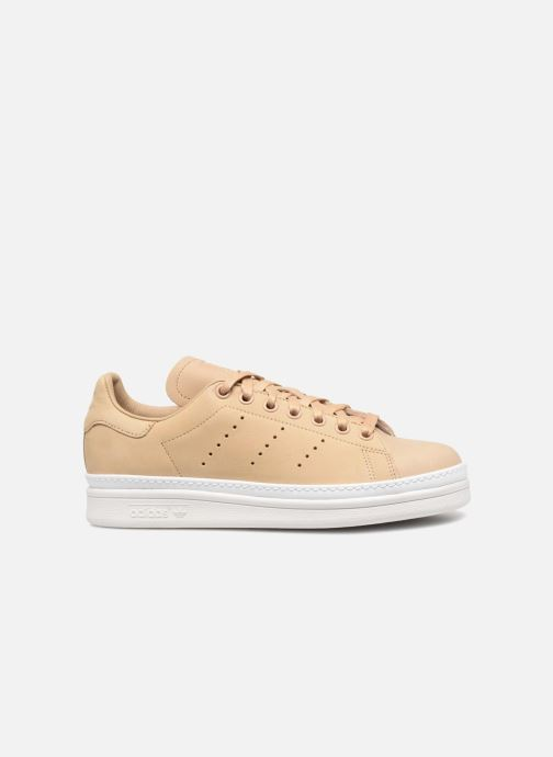 Baskets adidas originals Stan Smith New Bold W Beige vue derrière