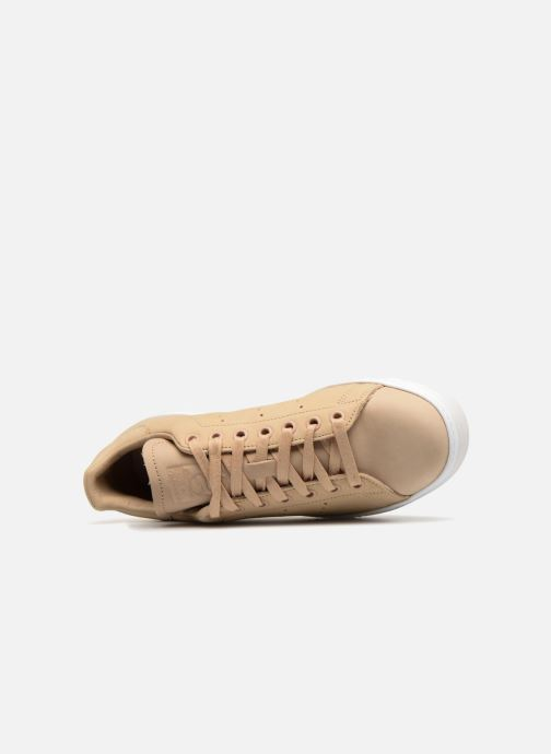 Sneaker adidas originals Stan Smith New Bold W beige ansicht von links