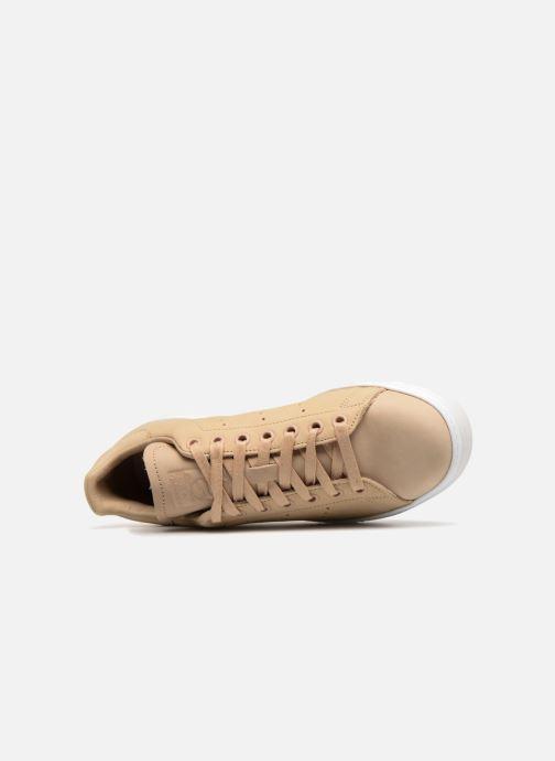 Baskets adidas originals Stan Smith New Bold W Beige vue gauche