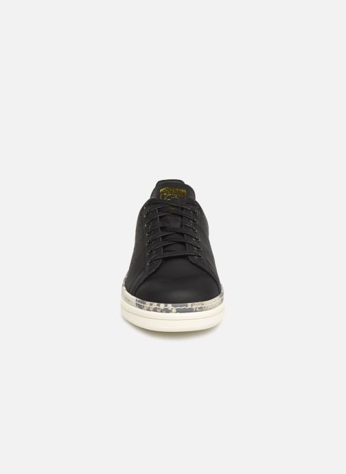 Baskets adidas originals Stan Smith New Bold W Noir vue portées chaussures