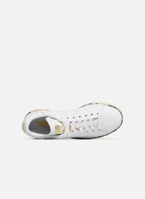 Sneaker adidas originals Stan Smith New Bold W weiß ansicht von links