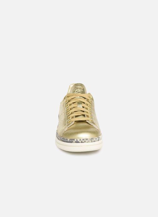 Baskets adidas originals Stan Smith New Bold W Or et bronze vue portées chaussures