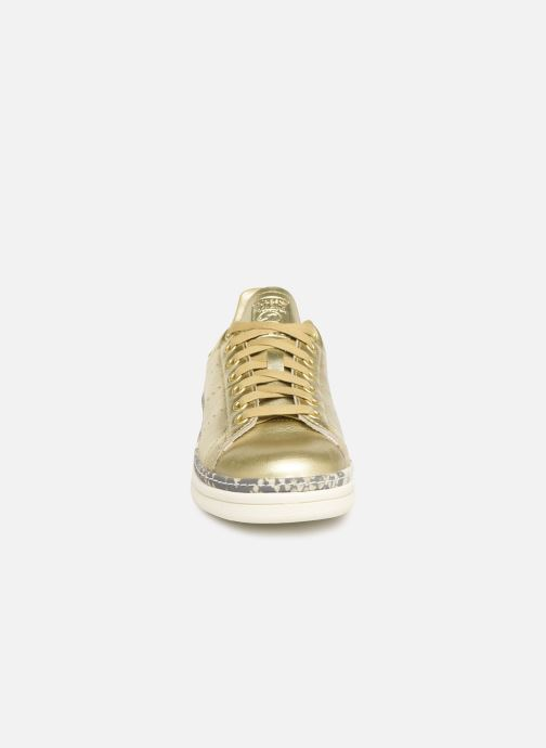 Baskets adidas originals Stan Smith New Bold W Or et bronze vue portées chaussures