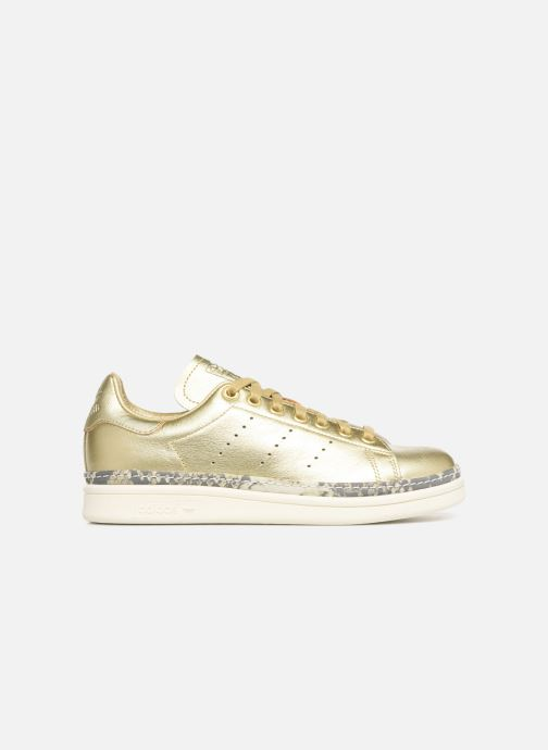 Baskets adidas originals Stan Smith New Bold W Or et bronze vue derrière