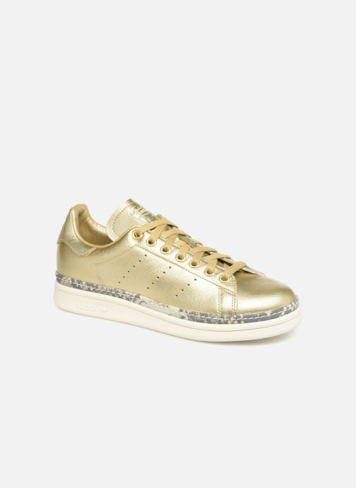 Baskets adidas originals Stan Smith New Bold W Or et bronze vue détail/paire