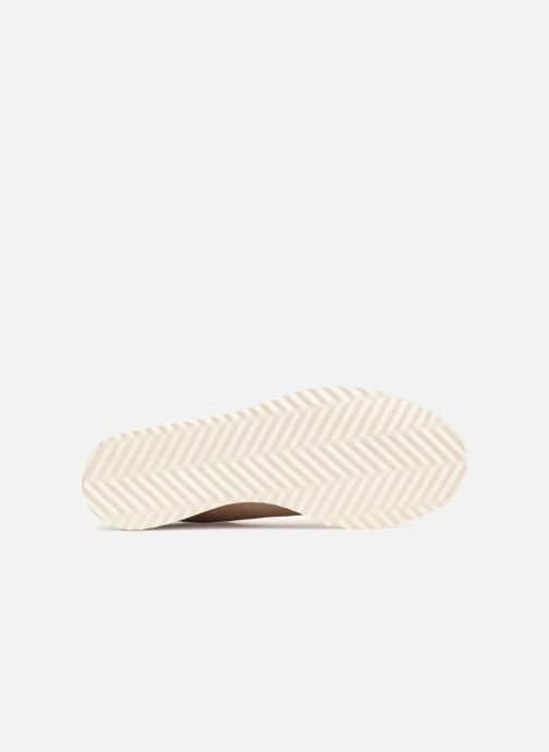 Sneaker adidas originals Superstar Boot W beige ansicht von oben