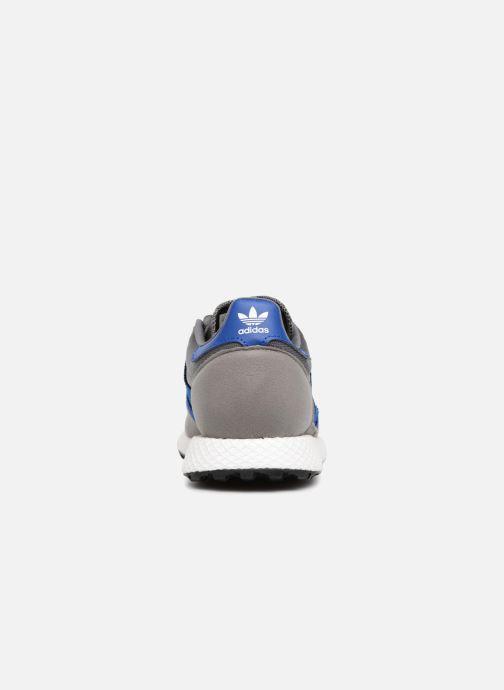 Sneakers adidas originals FOREST GROVE J Grijs rechts