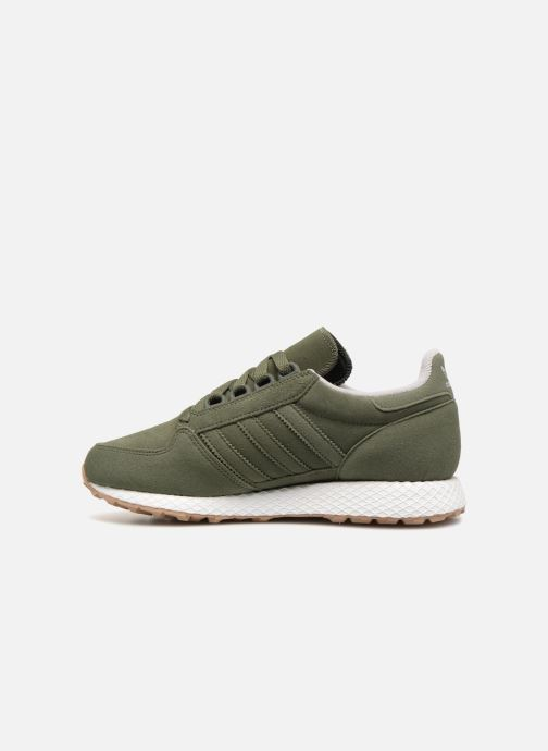 Sneakers Adidas Originals FOREST GROVE J Verde immagine frontale