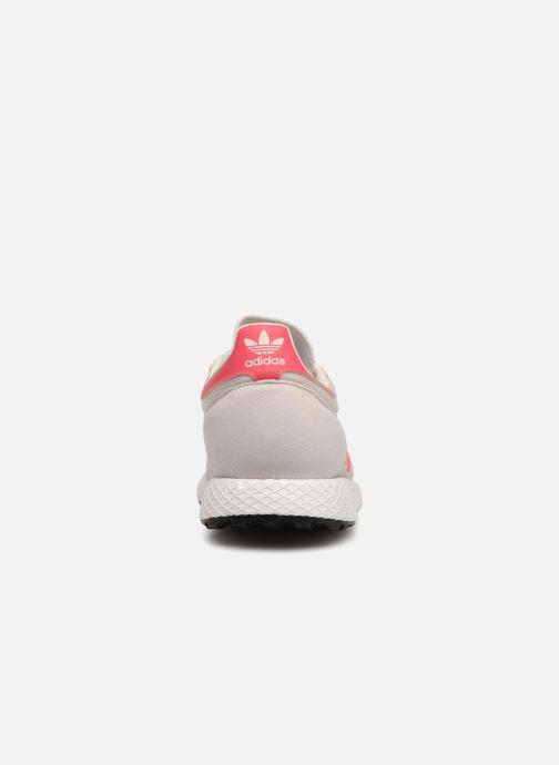 Sneaker adidas originals FOREST GROVE J weiß ansicht von rechts