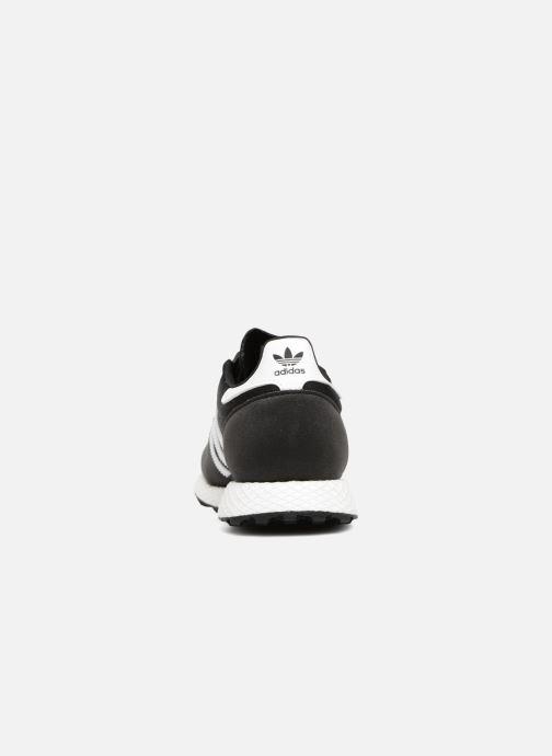 Baskets Adidas Originals FOREST GROVE J Noir vue droite