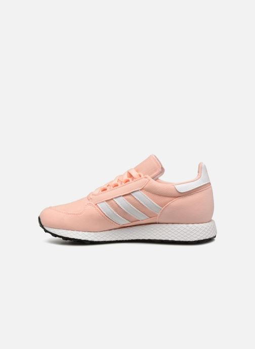 Trainers adidas originals FOREST GROVE J Orange front view