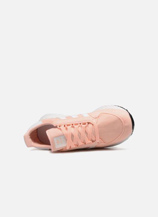 Baskets adidas originals FOREST GROVE J Orange vue gauche