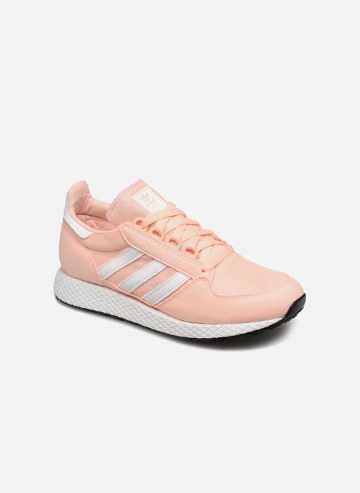 Sneakers Adidas Originals FOREST GROVE J Orange detaljeret billede af skoene