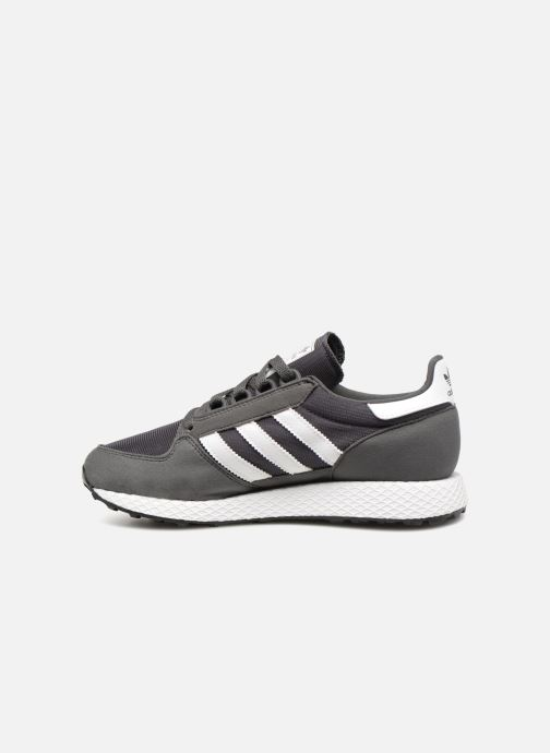Trainers adidas originals FOREST GROVE J Grey front view