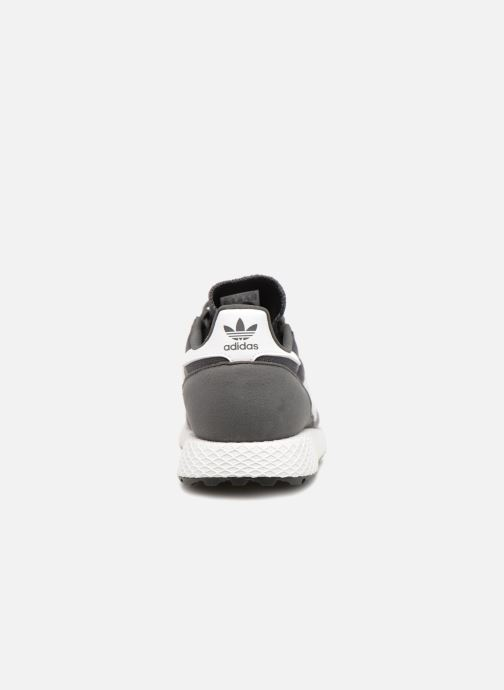 Trainers adidas originals FOREST GROVE J Grey view from the right